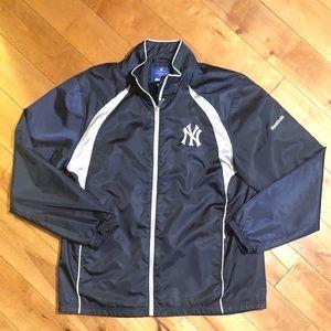 New York Yankees MLB Reebok Jacket Size Large